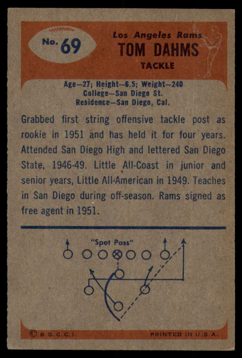 1955-Bowman-Football-1-70-Complete-your-set-Pick-your-card thumbnail 377