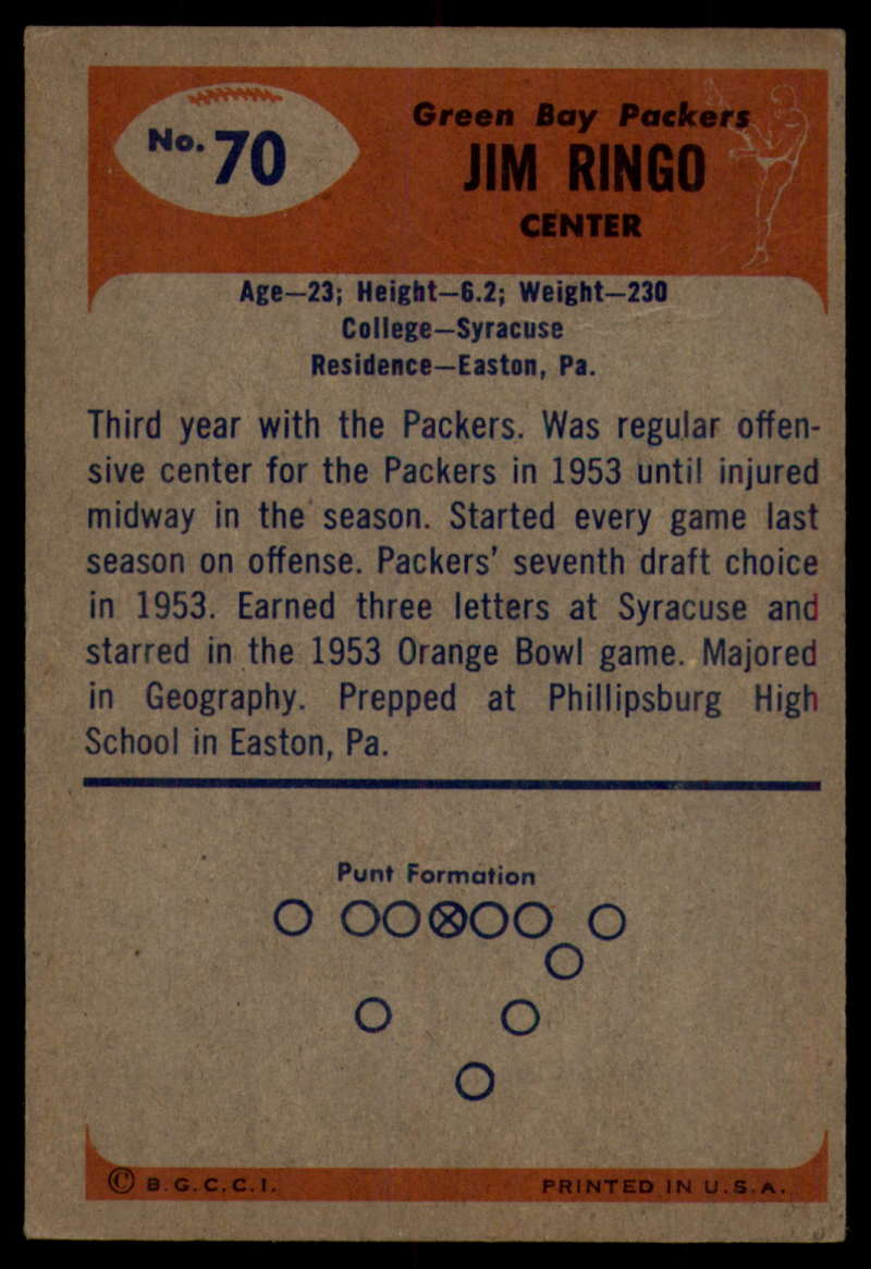 1955-Bowman-Football-1-70-Complete-your-set-Pick-your-card thumbnail 379