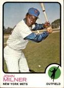 1973 Topps #4 John Milner EX/NM Mets