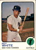 1973 Topps #25 Roy White EX Excellent