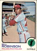 1973 Topps #37 Bill Robinson NM Near Mint