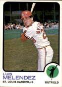 1973 Topps #47 Luis Melendez NM-MT