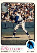 1973 Topps #48 Paul Splittorff NM-MT