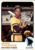 1973 Topps #57 Derrel Thomas NM Near Mint