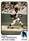 1973 Topps #82 Fritz Peterson EX/NM