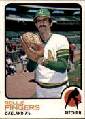 1973 Topps #84 Rollie Fingers EX Excellent