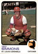 1973 Topps #85 Ted Simmons NM-MT+