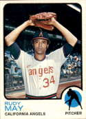 1973 Topps #102 Rudy May NM-MT