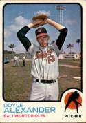 1973 Topps #109 Doyle Alexander EX/NM