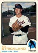 1973 Topps #122 Jim Strickland EX/NM