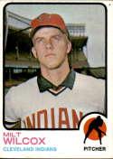 1973 Topps #134 Milt Wilcox EX/NM