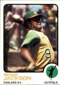 1973 Topps #255 Reggie Jackson NM Near Mint