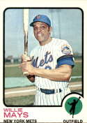 1973 Topps #305 Willie Mays VG/EX Very Good/Excellent