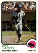 1973 Topps #642 Jose Laboy NM-MT+