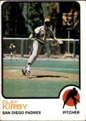 1973 Topps #655 Clay Kirby VG/EX Very Good/Excellent