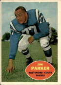 1960 Topps #5 Jim Parker VG/EX Very Good/Excellent
