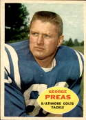 1960 Topps #6 George Preas NM Near Mint RC Rookie