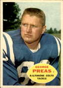 1960 Topps #6 George Preas EX/NM