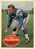 1960 Topps #8 Bill Pellington EX/NM RC Rookie