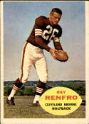 1960 Topps #26 Ray Renfro EX Excellent