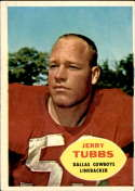 1960 Topps #38 Jerry Tubbs EX Excellent