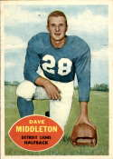 1960 Topps #43 Dave Middleton NM Near Mint