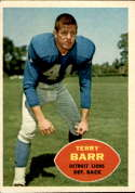 1960 Topps #47 Terry Barr EX Excellent