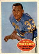 1960 Topps #63 Ollie Matson VG/EX Very Good/Excellent
