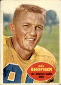 1960 Topps #65 Del Shofner VG Very Good