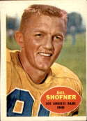 1960 Topps #65 Del Shofner VG/EX Very Good/Excellent
