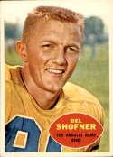 1960 Topps #65 Del Shofner EX/NM