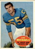 1960 Topps #69 Lou Michaels EX++ Excellent++ RC Rookie
