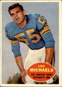 1960 Topps #69 Lou Michaels EX/NM RC Rookie
