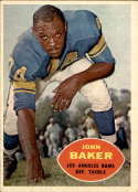 1960 Topps #70 John Baker EX Excellent RC Rookie