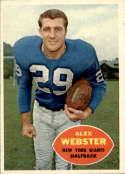 1960 Topps #75 Alex Webster NM-MT+