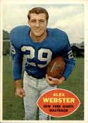 1960 Topps #75 Alex Webster NM-MT