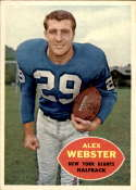 1960 Topps #75 Alex Webster NM+