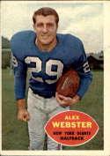 1960 Topps #75 Alex Webster VG Very Good