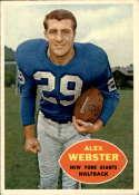1960 Topps #75 Alex Webster EX/NM