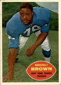 1960 Topps #78 Roosevelt Brown VG/EX Very Good/Excellent