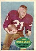1960 Topps #124 Don Bosseler EX Excellent