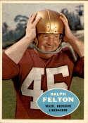 1960 Topps #129 Ralph Felton NM-MT+ RC Rookie