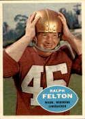 1960 Topps #129 Ralph Felton NM-MT RC Rookie