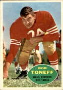 1960 Topps #131 Bob Toneff VG/EX Very Good/Excellent
