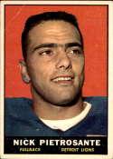 1961 Topps #31 Nick Pietrosante VG Very Good RC Rookie