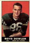 1961 Topps #43 Boyd Dowler NM+ RC Rookie