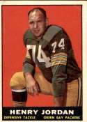 1961 Topps #45 Henry Jordan VG/EX Very Good/Excellent RC Rookie
