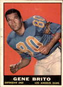 1961 Topps #54 Gene Brito VG/EX Very Good/Excellent