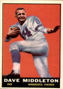1961 Topps #81 Dave Middleton NM Near Mint