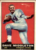 1961 Topps #81 Dave Middleton G/VG Good/Very Good